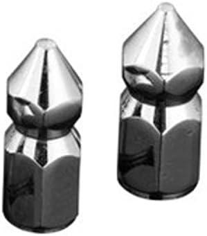 Unbekannt Chrom 10mm Spitze Muttern passt japanische Motorr/äder M10 Gr/ö/ße x 1,5 Gewinden Paar