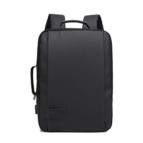 Men Backpack 15.6'' Antitheft Laptop Backpack Waterproof Business Travel Backpack School Bag with USB Charge Port,Model A