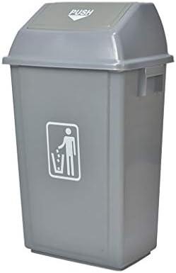 ゴミ袋 ゴミ箱用アクセサリ 23リットル/ 6ガロンスイングカバーゴミ箱(グレー) キッチンゴミ箱 (Capacity : 100L)