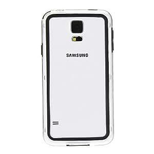 RC - Transparent Bump Frame for Samsung S5/i9600(Assorted Color) , Black