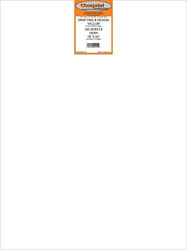 CLEARPRINT VELLUM 1000H 18X24 PK/100 SHEETS