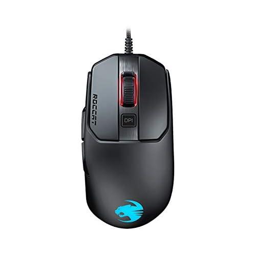 chollos oferta descuentos barato ROCCAT Kain 120 AIMO Ratón Mano Derecha Óptico USB 16000 dpi Negro