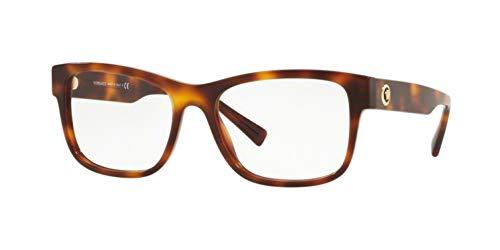 Versace VE3266 Eyeglass Frames 5217-55 - Havana VE3266-5217-55 (Versace Eyewear)