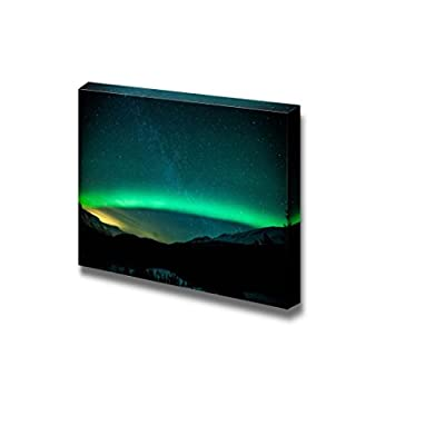 Beautiful Scenery Landscape Northern Lights Aurora Arc in Sweden Wall Decor, Created Just For You, Charming Artisanship