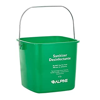 Alpine Industries 6 Qt. Green Cleaning Pail