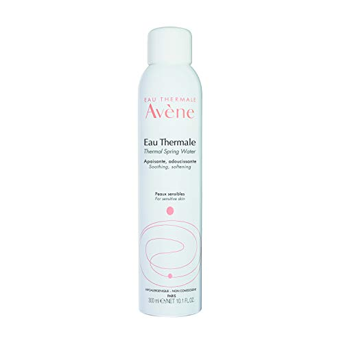 Eau Thermale Avene Thermal Spring Water, Soothing Calming Facial Mist Spray for Sensitive Skin, Fragrance-Free, Alcohol-Free, 10.1 oz.