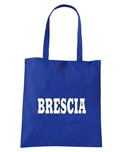 CITTA STEMMA Blu ITALIA BRESCIA WC0985 Borsa LOGO Royal Shopper A6HSFS