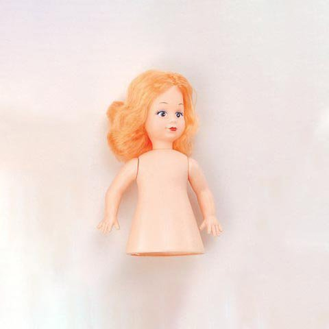 Bulk Buy: Darice DIY Crafts Air Freshener Doll Caucasian with Blonde Hair 6.5 inches (6-Pack) 1234-2