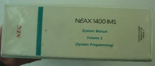 NEC ND-43177 Separate Manual (Nec Telephone Manuals)