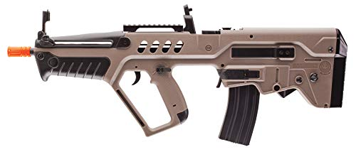 Umarex IWI Tavor AEG 6mm BB Rifle Airsoft Gun, Dark Earth Brown, Tavor 21 (Competition Series)