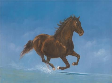 oil-painting-a-horse-10-x-13-inch-25-x-34-cm-on-high-definition-hd-canvas-prints-is-for-gifts-and-ba