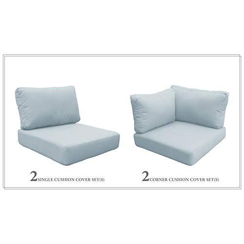TK Classics High Back Cushion Set for FLORENCE-07d