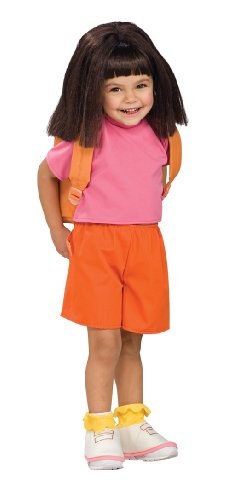 Child's Wig Dora the Explorer (Dora The Explorer Costumes)