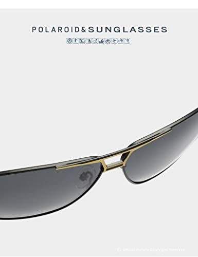 de HD Protection Soleil Lunettes Yao Lunettes la Hommes Conduite Soleil pour UV400 Tendance 1 de personnalité Mode Polarized Hommes de qn8nxYBO