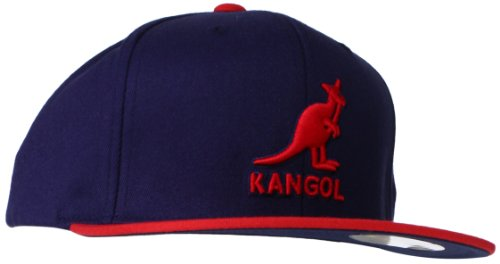 (Kangol Men's Championship Links Adjustable, Dark Blue/Red, One Size)