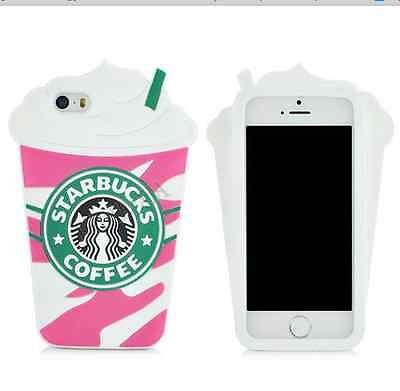 keith luxury cute 3d starbucks frappuccino phone case for iphone 6