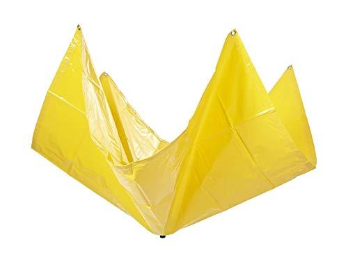5' x 5' Drain Tarp - Roof Ceiling Leak Drip Diverter Tarp Heavy Duty - ()