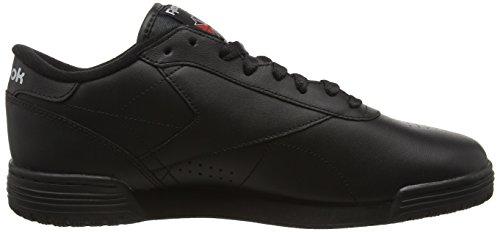 Hombre Clean 39 Zapatillas Negro Logo Exofit Silver Reebok Ar3168 Lo black Eu Silver para INT RwFq0Hf