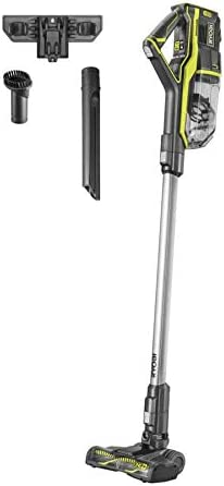 Ryobi R18SV7-0 OnePlus - Aspirador Escoba (18 V, sin batería ni Cargador), Color Verde: Amazon.es: Hogar