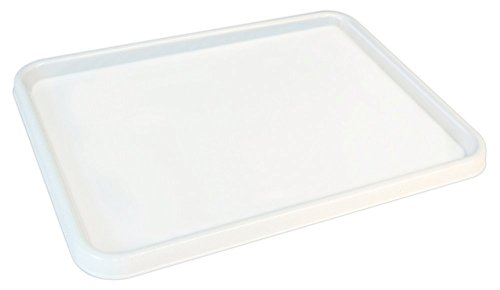 Generic 10PCS Large Flat Palette, White, 9-3/4-Inch by 13-Inch by Generic