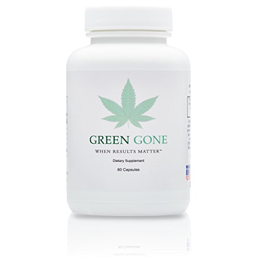 Green Gone 5 Day THC (Marijuana) Detox Kit - Permanent Cleanse, (for Moderate Usage) with 5 THC Test Strips!