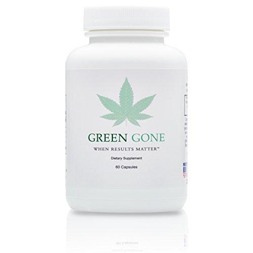 Green Gone 5 Day THC (Marijuana) Detox Kit - Permanent Cleanse, (for Moderate Usage) with 5 THC Test Strips! (Marijuana Detox Kits)