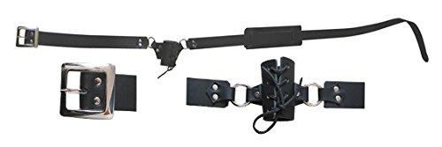 Swordmaster - Medieval Leather Waist Hanger Sword Frog Belt SCA Larp Brand New ()