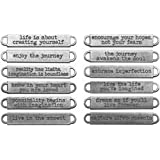 Bulk Buy: Advantus Crafts Idea Ology Metal Word Bands 12/Pkg (2-Pack)