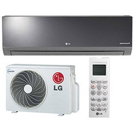 Lg La090hsv2 Art Cool Mirror Single-Zone Duct-Free Split System, 9000 Btu Cool (Duct Free Air Conditioners)