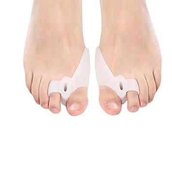 pedimend silicona Gel Toe seperators – juanetes almohadillas – Protectores de Dedos – Martillo de dedos
