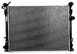TYC 2766 Chrysler 300 1-Row Plastic Aluminum Replacement Radiator