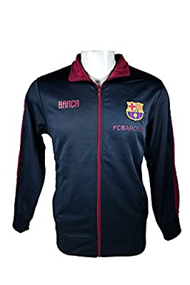 FC Barcelona Zipper Hoodie Soccer Adult Sizes Football Official Merchandise 009
