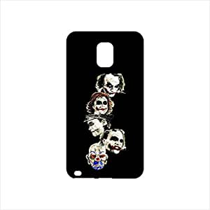 Fmstyles - Samsung Note 4 Mobile Case - Multiple Joker Face Sketch