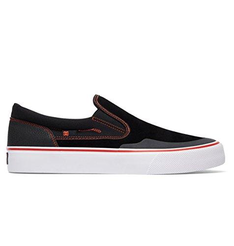 DC Herren Trase S Rt Skate-Schuhe Beleg, EUR: 42.5, Black/Red/White