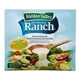 Clorox Hidden Valley Light Original Ranch Dressing Dry Mix, 3.2 Ounce - 18 per case.