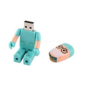 shooo Hembra Enfermera USB Flash Drive Juguete Forma Estilo Cartoon Robot 22