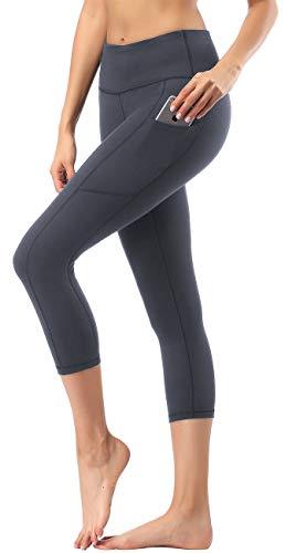 HOFI Women's High Waist Cropped Yoga Pants with Side Pockets & Inner Pocket … ()
