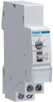 Hager - Emn001 - minutero de escalera 16a, 230v: Amazon.es: Bricolaje y herramientas