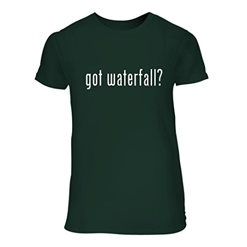 Price comparison product image got waterfall - A Nice Junior Cut Women's Short Sleeve T-Shirt,  Forest,  Large