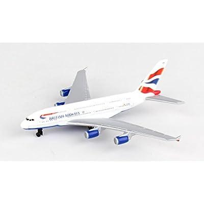 Daron Worldwide Trading RT6008 British Airways A380 Single Plane: Toys & Games