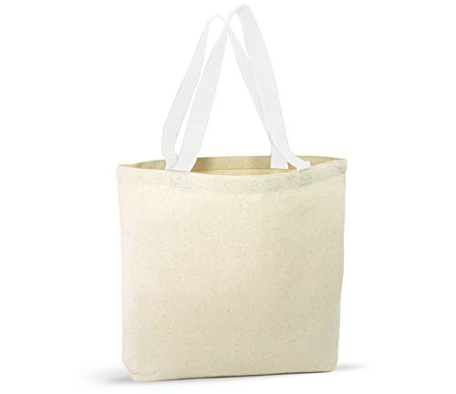 12 Pack Canvas Tote Bags – Design Your Own Party Favor Pack Tote Canvas Bags by Big Mo's Toys by Big Mo's Toys