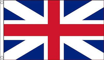 5' x 3' Kings Colours Flag 1606 British Union Jack Banner