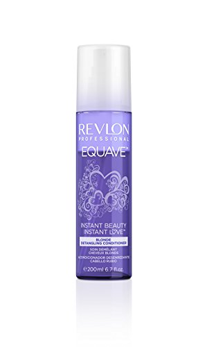 Revlon Equave Instant Beauty - Blonde Detangling Conditioner Especially for Colour Care of Blonde and Lightened Hair 200 ml...