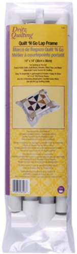 Dritz Quilting Quilt-N-Go Lap Frame, 14 by 14-Inch (3128) by Dritz
