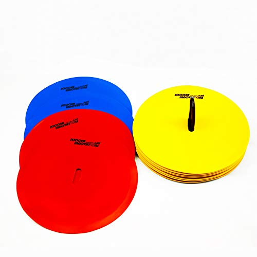 Soccer Dot Com (Soccer Innovations Flat Training Disc Markers, Multi-Color,)