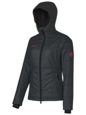 Mammut Runje IN Hooded Jacket Women - Fleecejacke aus Yak Wolle