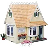 Dollhouse Miniature The Storybook Dollhouse Cottage by Greenleaf