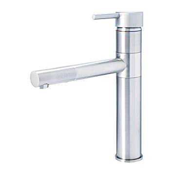 Ikea Hovskar Single Lever Kitchen Mixer Tap Stainless