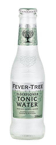 Fever-Tree Elderflower Tonic Water, 6.8 Ounce (Pack of - Plymouth Water