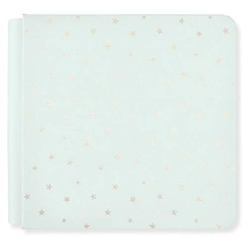 Limited Edition 8x8 Seafoam Light Green Stars Album Cover Only by Creative Memories from Creative Memories